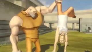 Animasyon Komik hapishane Hayatı
