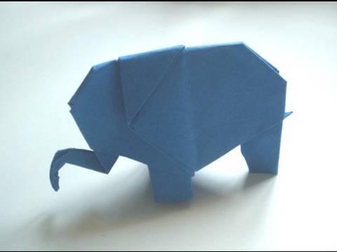Kağıttan Fil Origami