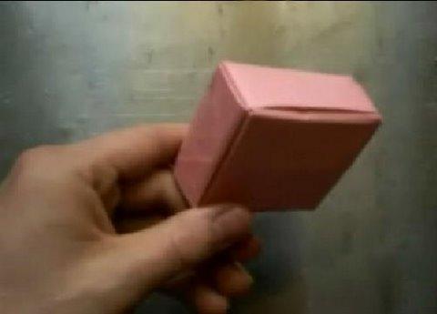 Kağıttan Kutu Origami