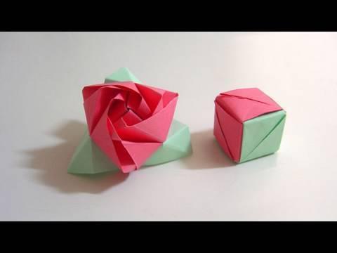 Kağıttan Sihirli Küp