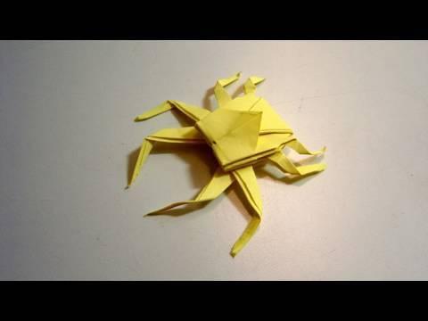 Kağıttan Örümcek Origami