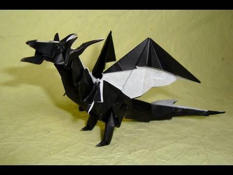 Kağıttan Ejderha Origami