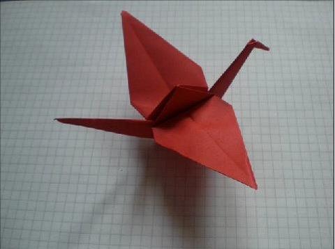Kağıttan Turna Origami