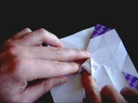 Kağıttan Gül How to make the Origami Rose